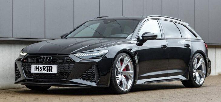 Special Forces: H&R Sportfedern für den neuen Audi RS6 Avant