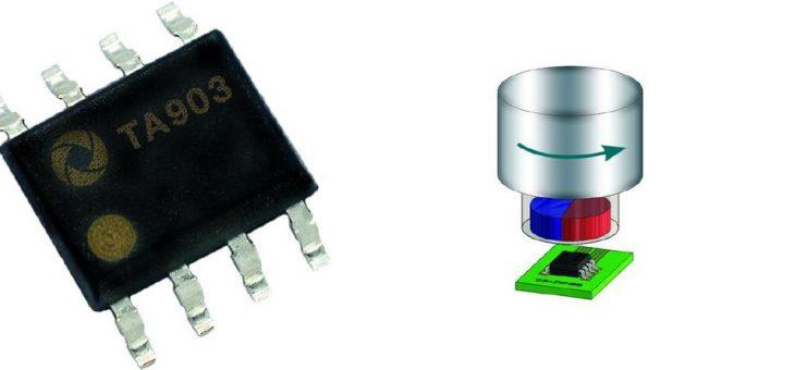 TA903 TMR FreePitch Sensor für die Winkelmessung