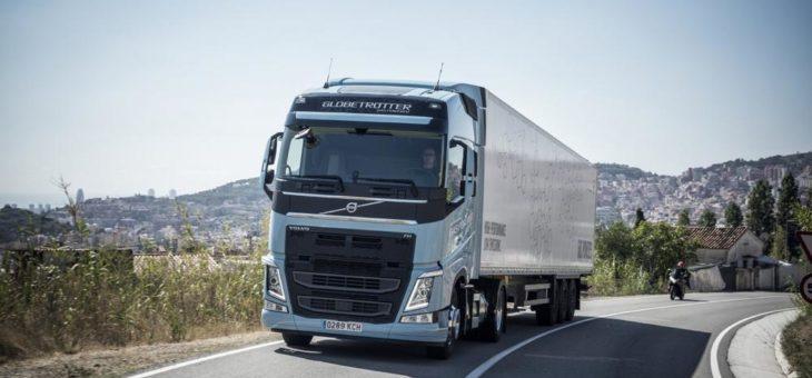 LNG-Lkw von Volvo Trucks bis 2023 von der Maut befreit