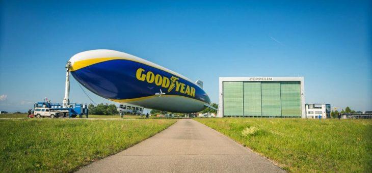 Goodyear-Zeppelin-Partnerschaft nun auch in Europa