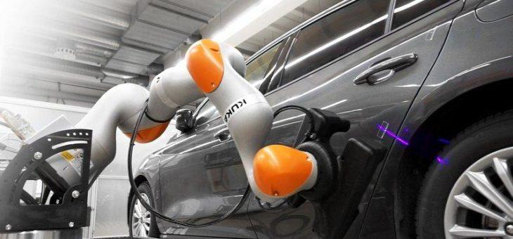 Automatisierung im Automobilbau: Sensitiver Roboter steigert Effizienz in der Endmontage