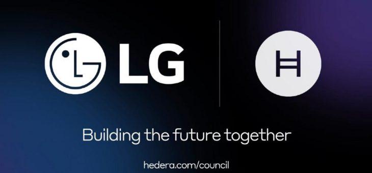 LG schlieẞt sich Hedera an, um die Entwicklung und die Akzeptanz von DLT weltweit zu beschleunigen