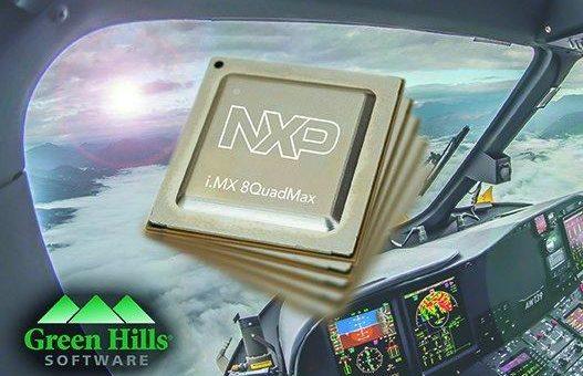 Green Hills Software unterstützt heterogene i.MX 8 Anwendungsprozessoren von NXP für luftgestützte sicherheitskritische Systeme