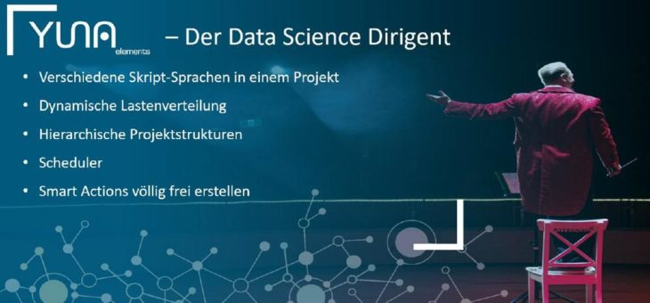 Mit YUNA elements Datenprodukte effektiv entwickeln, verwalten und betreiben