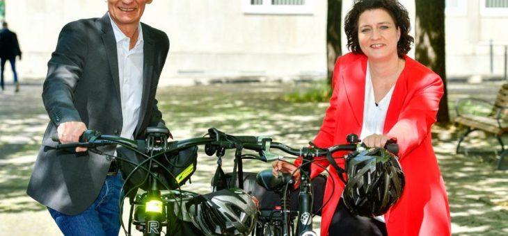 """Vorfahrt für Fahrräder -""""Mit dem Rad zur Arbeit"""" startet aufgrund Corona einen Monat später"""