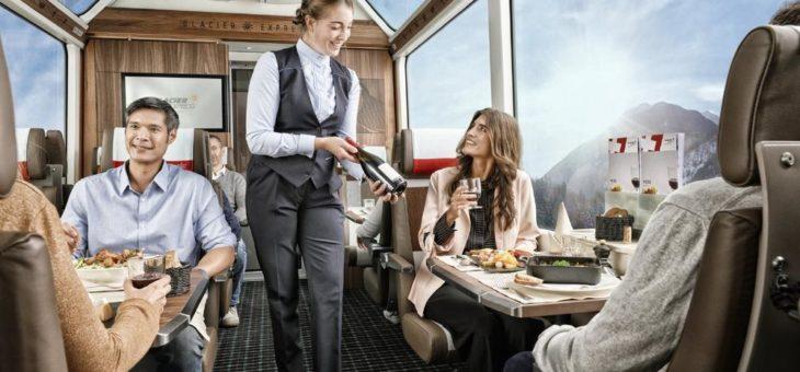 Der Glacier Express ist ab dem 20. Juni wieder unterwegs: 1. und 2. Klasse mit neuem Innendesign