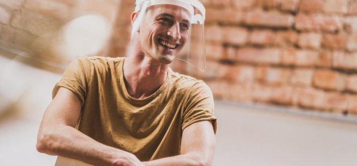 Fleigs Panorama-Visier: Innovative Gesichtsschilde von Lahrs Tüftlern