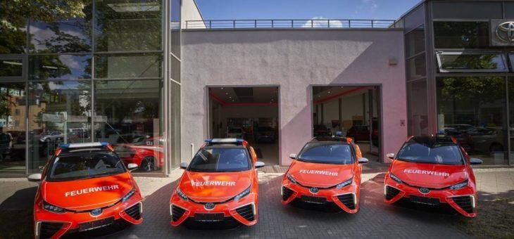 Nachhaltig zum Brandeinsatz: Berliner Feuerwehr kauft vier Toyota Mirai