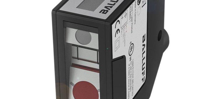 Laser-Distanzsensor von Balluff mit IO-Link und Fremdlichtunterdrückung