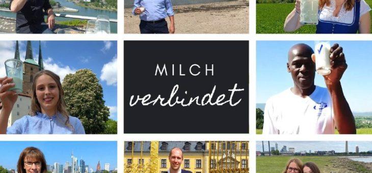 Milchglas reist rund 1.600 Kilometer online durch Deutschland