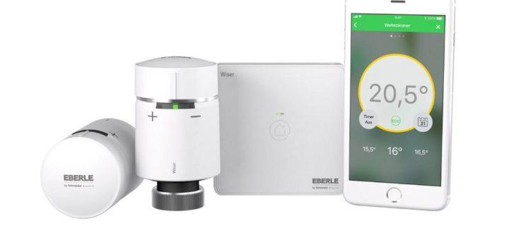 Intelligentes Heizen wird transparenter: Eberle integriert den Heat Report in die Wiser Heat App