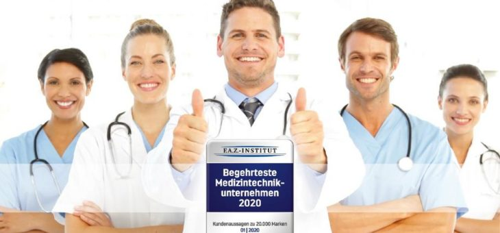 """Richard Wolf erhält Auszeichnung als eines der """"Begehrtesten Medizintechnikunternehmen 2020"""""""