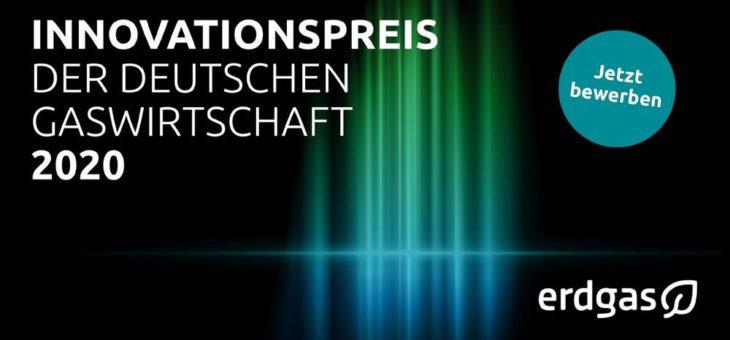 Ideen gesucht: Gaswirtschaft vergibt Innovationspreis 2020