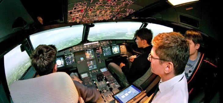 Sommerferien-Lernspaß im Cockpit