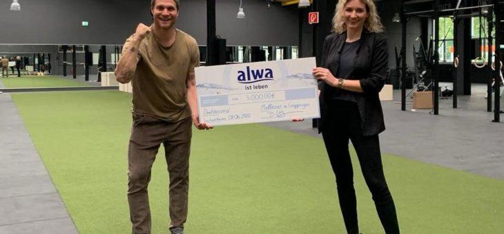 Charity Challenge: alwa-Stiftung spendet 8.000 Euro an gemeinnützige Projekte in Baden-Württemberg