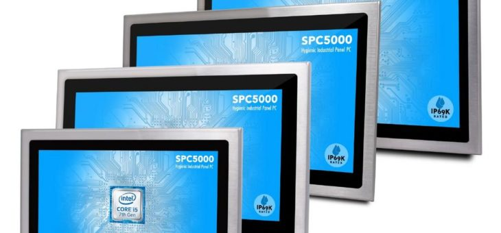 4logistic präsentiert Edelstahl Panel PCs mit großer Bildschirmdiagonale