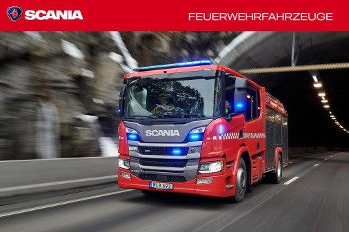 Scania Feuerwehrfahrzeuge: optimiert und besonders sicher
