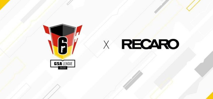 Tom Clancy's Rainbow Six® Siege: RECARO wird offizielle Partner der GSA League 2020