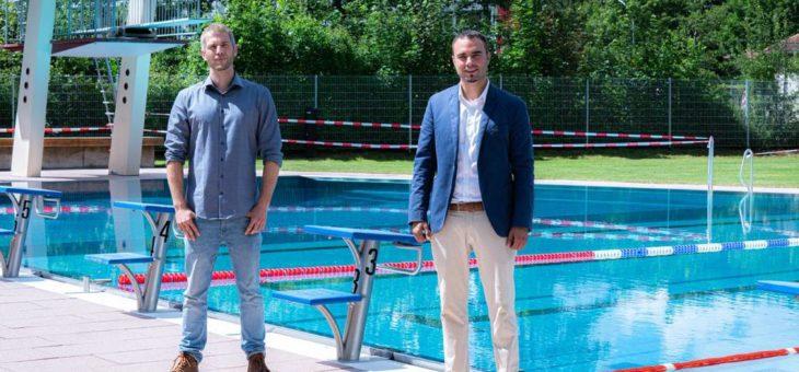 Expertennetzwerk des Digital Hub Nordschwarzwald unterstützt den Badepark Nagold mit digitalen Lösungen