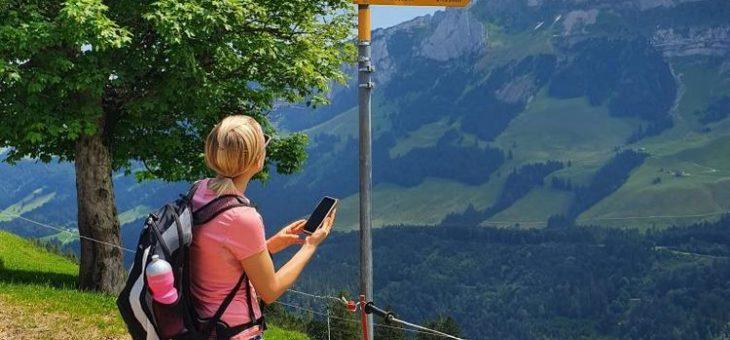 Appenzellerland Tourismus lanciert Wegweiser-App