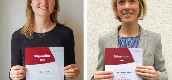 Deutsche Leberstiftung fördert mit zwei Stipendien die hepatologische Forschungsvernetzung