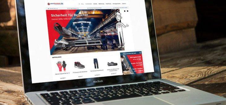 Der neue Onlineshop von Omniprotect: Der digitale Online-Fachhandel für Arbeitsschutz und Arbeitsbekleidung