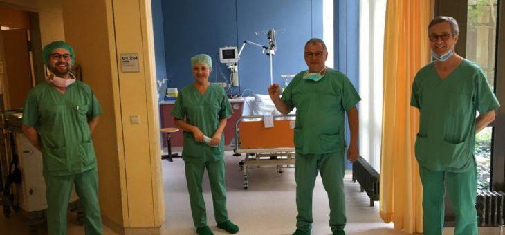 Erste Implantation eines sondenlosen 2-Kammer-Herzschrittmachers am Klinikum Bielefeld