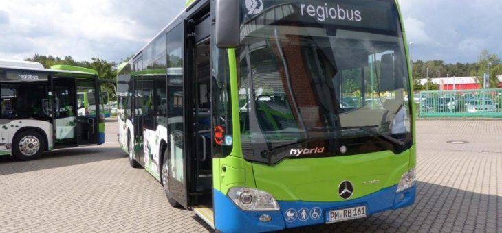 Sparsam, mit Wlan und umweltfreundlichem GTL-Kraftstoff – Hybridbusse für die Stadtlinie Bad Belzig