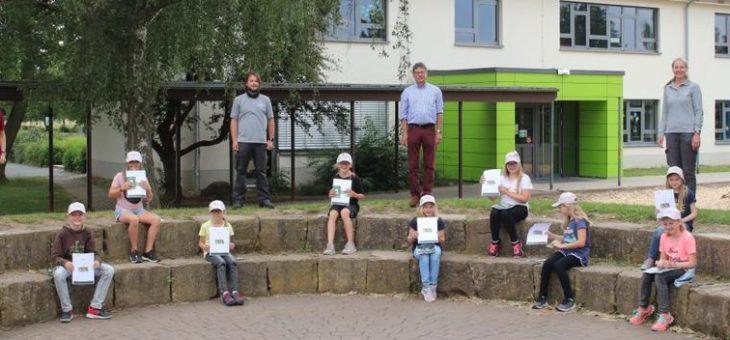 Neue Generation Junior Ranger ausgebildet – in der Grundschule Edertal und in der Kellerwaldschule Frankenau