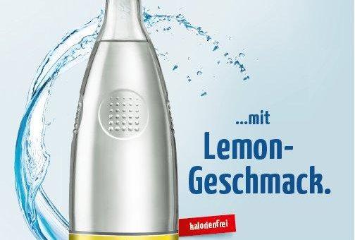SACHSEN QUELLE medium+ lemon nun auch in Glas-Mehrweg