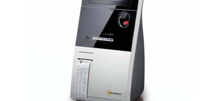 Messdaten für therapeutisches Vorgehen bei der Hand: Thermodrucker GeBE-MULDE Mini in ESCHWEILER Blutanalysesystem