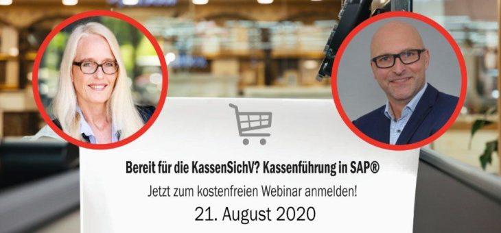 KassenSichV 2020: Webinar mit Kassenführungs-Expertin Andrea Köchling