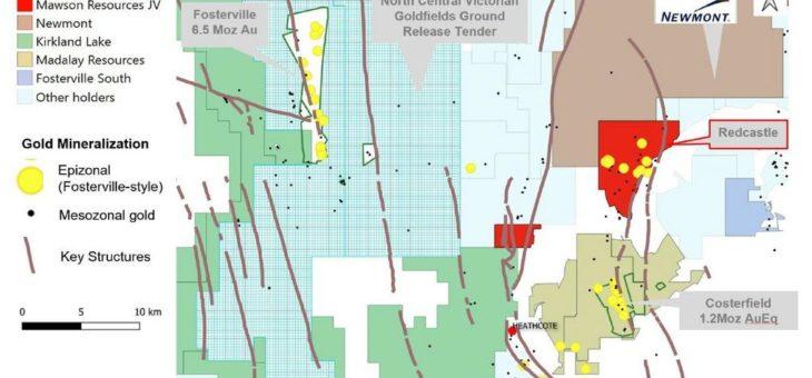 Mawson bereitet Bohrungen im hochgradigen Goldprojekt Redcastle in Victoria, Australien, vor