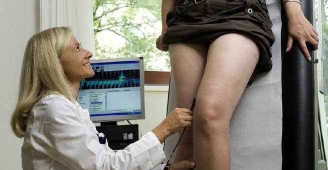 Krampfader-Operation auch im hohen Alter?