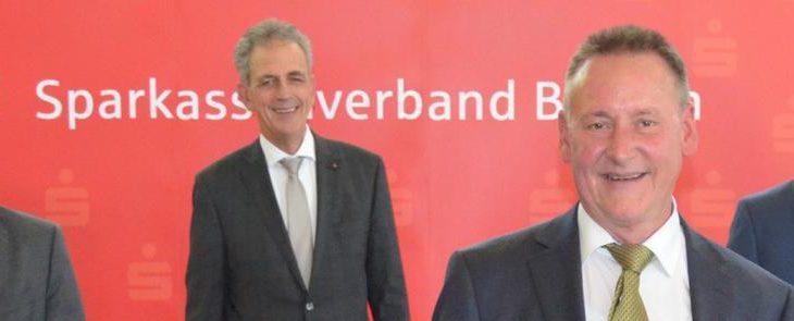 OB Jung und Landrat Dießl im SVB-Präsidium