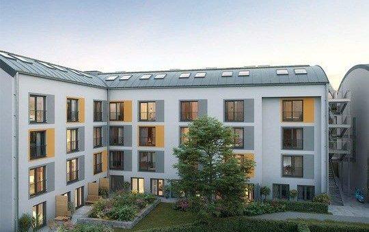 PROJECT Immobilien verkauft 82 neue Apartments zur Kapitalanlage in Karlsfeld bei München