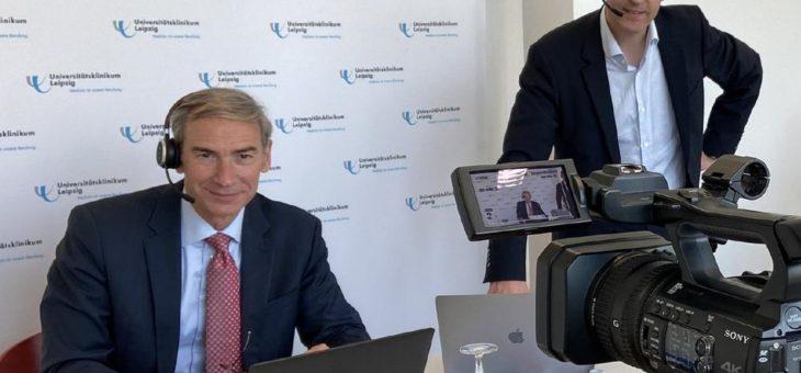 """Web-Symposium beschäftigt sich mit der """"Corona-Pandemie in Sachsen"""""""