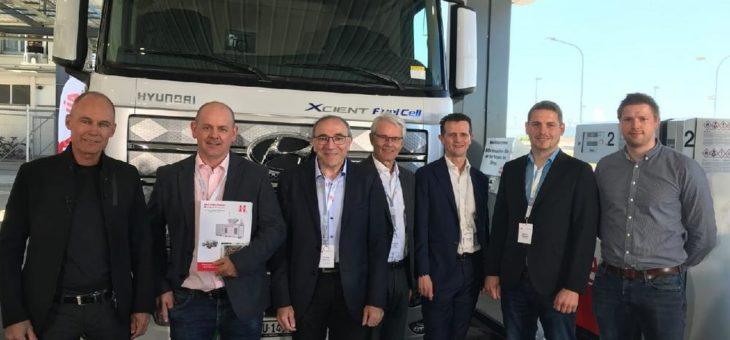 Weltpremiere für AVIA: Erste Wasserstoff-Tankstelle in St. Gallen öffnet