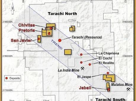 Tarachi Gold Corp. Update zum Feldprogramm
