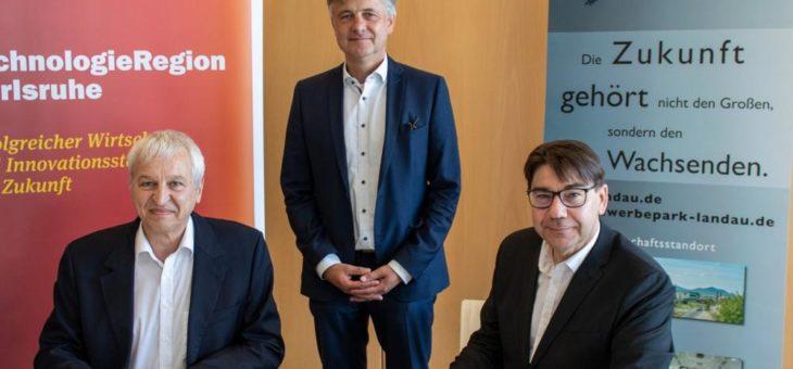 Starke Partner: Stadt Landau wird Gesellschafterin der TechnologieRegion Karlsruhe – Aktionsbündnis setzt auf Zusammenarbeit bei Mobilität, Energie und Digitalisierung