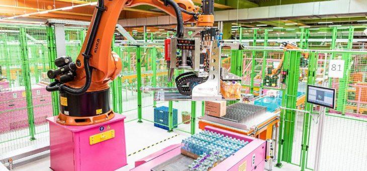 dm-drogerie markt eröffnet neues Verteilzentrum: Mit Robotik & Software von Swisslog