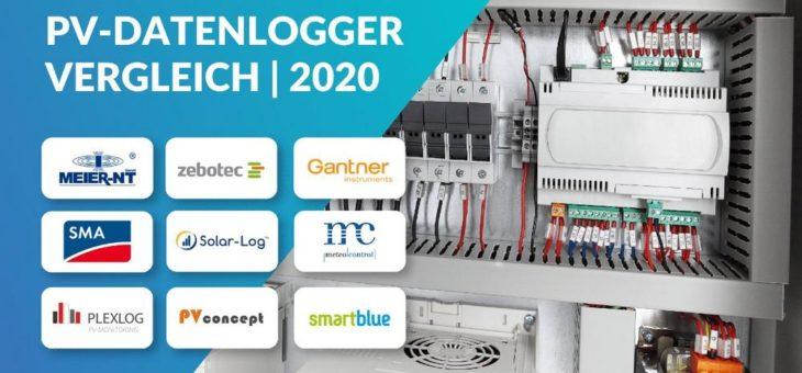 PV-Datenlogger: Solar-Log™, meteocontrol, SMA & weitere bekannte Anbieter im Vergleich