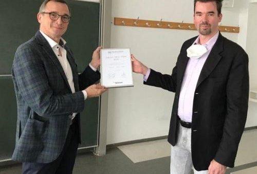 Andreas Rödder erhält Jürgen-Moll-Preis für verständliche Wissenschaft