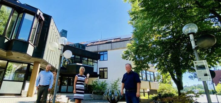 Photovoltaik für das Rathaus Eckental