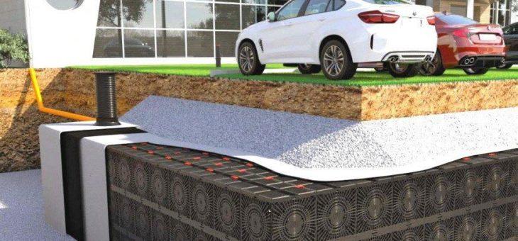 Aqua-Box vervollständigt die breite Palette der Geoplast Lösungen im Regenwasser-Management