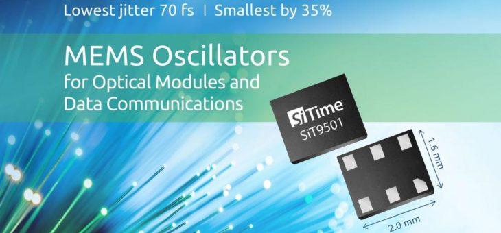 SiT9501 ermöglicht Hochleistungskommunikation in Datacentern und bei 5G-Anwendungen