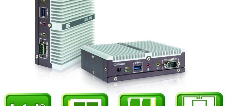 Kompaktes Embedded System mit dreifacher HDMI Bildausgabe