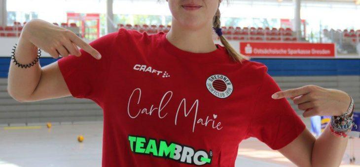 CarlMarie bleibt dem Dresdner Sportclub (DSC) ein treuer Sponsor