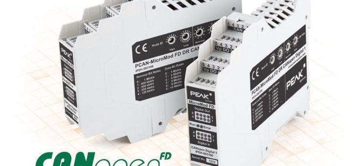 I/O mit CANopen und CANopen FD für industriellen Einsatz