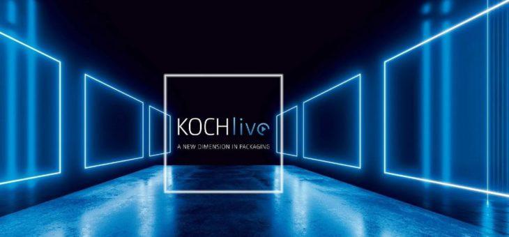 Erfolgsfaktoren der ersten virtuellen Messe von KOCH Pac-Systeme